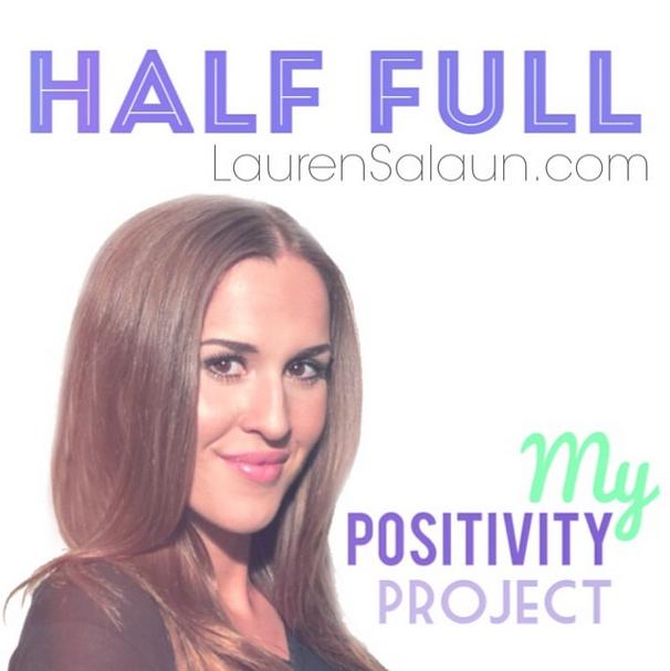 Half Full Positivity Project Image