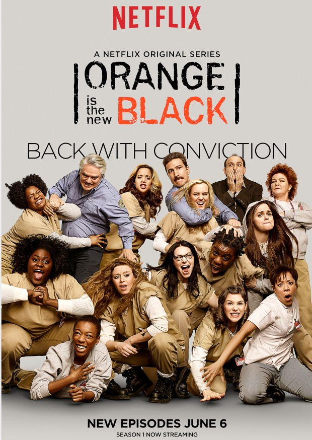 Orange Is The New Black cast photo.