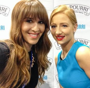 with Ms. Poo-Pourri
